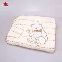Online hot sale baby knitted blanket
