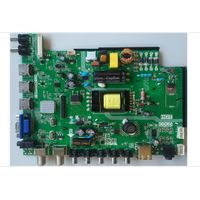 LCD Controller TV Power Board with 3 in 1 for 1366x768 resoluation