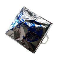 Plastic aluminium foil isothermal cooler bag
