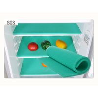 Elfin 18.5x11.8 Inches Food Safe Silica Gel Produce Fresh-keeper and Food Storage Fridge Mat(Green)