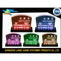 Baccarat Min Max Rate Display Board Limit Sign Board thumbnail image
