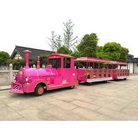 50 Seater Electric Mini Amusement Train Sightseeing Train Model Dsw-E50