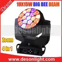new 19x15w zoom LED big bee eyes wash beam light LM-1915B thumbnail image