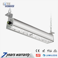 IP65 Led Linear High Bay Light 2ft 3ft 4ft 5ft 130lm/w 5~7 Years Warranty
