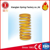 high resilience wide diameter compression return spring for mine tractor