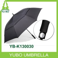 big size stromproof subway double layer air vented golf umbrella