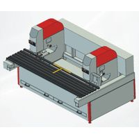 A2 horizontal glass drilling machine for furniture glass