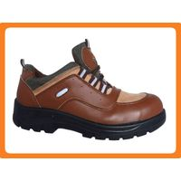 smooth leather safety shoes 300701 thumbnail image