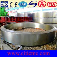 Casting rotary kiln belt for cement line