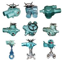 3 phase multi turn gate valve electric actuator SLM10-18 SLM10-36 SLM15-18.