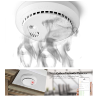 TekeyTBox Smoke alarm fire certification smoke detector independent wireless residential thumbnail image