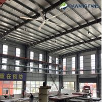 latest arrival Distributor ship BLDC Industrial HVLS ceiling fan
