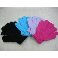 Baby bath massage exfoliating gloves thumbnail image