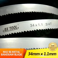 34mm1.1mm M42 band saw blade for cutting metal or cutting wood