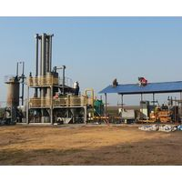 draft down fixed bed biomass gasification combustion power generation ... biomass gasification power