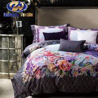 Factory supply bed sheet digital print bedding set on sale thumbnail image