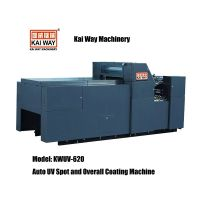 Small Sized Auto UV Spot and Overall Coating Machine