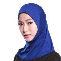 Soft Spring Autumn Plain Color Muslim Hijab Scarf Supplier thumbnail image