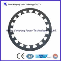 Motor stator punching sheet lamination