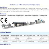 2D/3D Papad Pellets/Fryums Production Line thumbnail image
