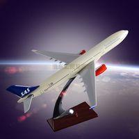 Airplane Model OEM Simulation Airbus 330 SAS Model Aircraft Resin Engine Blade Hollow Design