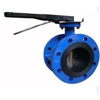 Concentric double flanged butterfly valve thumbnail image