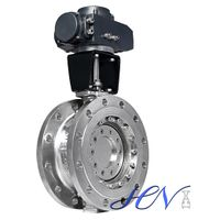 Industrial Stainless Steel Flange Type Triple Eccentric Butterfly Valve thumbnail image
