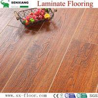Germany Technology AC4 HDF Embossed Waterproof Waxed Edge Laminate Flooring thumbnail image