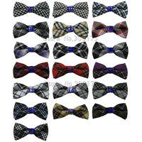 men's cotton bow tie