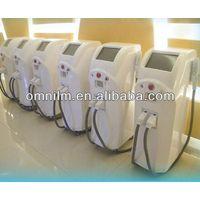 Permanent hair removal and skin rejuvenation  IPL SHR  machine for beauty salon