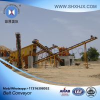 Large Capacity Simple Structure Conveyer Minning Rubber Belt Conveyor