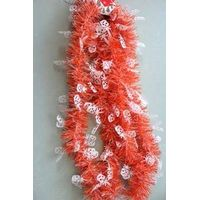tinsel garland, pvc decorations, christmas decoration