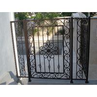 House garden decorative wrought iron gate for sale