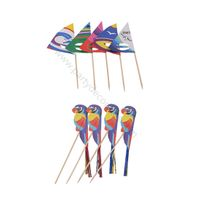 BIG SIZE DECORATIONS PARROT PICKS / SALLING PICKS