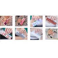 nail polish sticker nail polish wrap NAIL POLISH STRIPS