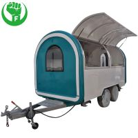 Customized Pizza Food Trailer Manufacturer