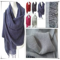 PG1210 lady's fashion pure colour long dark blue scarf very high quality cashmere scarf