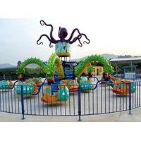 Amusement Park Rotating Rides Big Octopus for Sale Factory Direct Manufacturer thumbnail image
