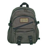 Canvas backpack for girls, custom backpack manufacturer in China