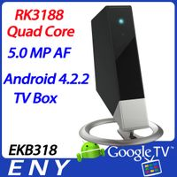 EKB318 RK3188 Android 4.2.2 tv box camera quad core full hd media player HDMI remote control thumbnail image