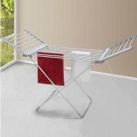 folding electric heated clothes dryer for baby