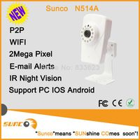 1080P Onvif wireless IP camera with sd card recording, free ddns