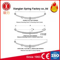 Suspension Part Steel Truck Semi Trailer Leaf Spring