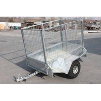 galvanized steel tradesman tool box trailer
