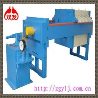 Shuangfa high-power iron cast mechanical micro plate and frame pressure filter