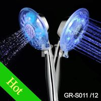 GR-S011 colorful led shower heads, shower faucets thumbnail image