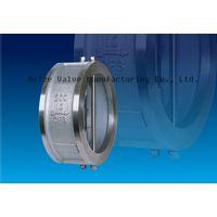 API Dual plate check valve