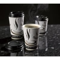 8oz/12oz Ripple wall paper cup for hot coffee
