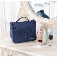 travel toiletry bag makeup cosmetic organizer bag with hook handle for mens women unisex waterproof thumbnail image