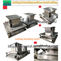 Progressive mold die for ceiling cutting corner and edge bending thumbnail image